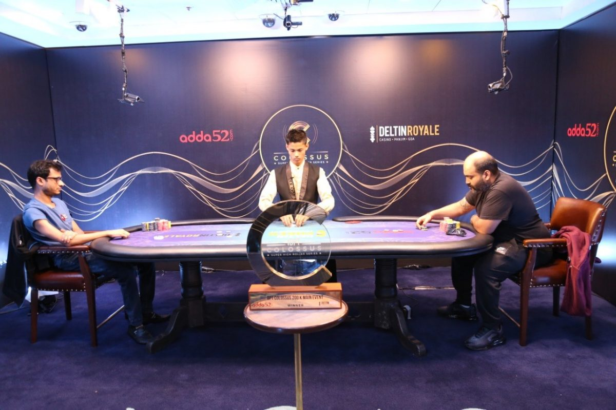DPT COLOSSUS 2019: Aditya Agarwal Shipped the 200K Main Event For INR 31,00,000